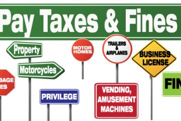 Pay your Fines or Taxes